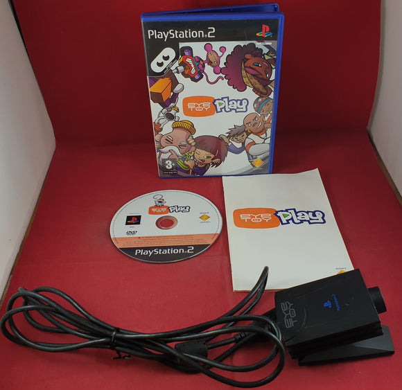 Eyetoy Camera Accessory with Eyetoy Play Sony Playstation 2 (PS2)
