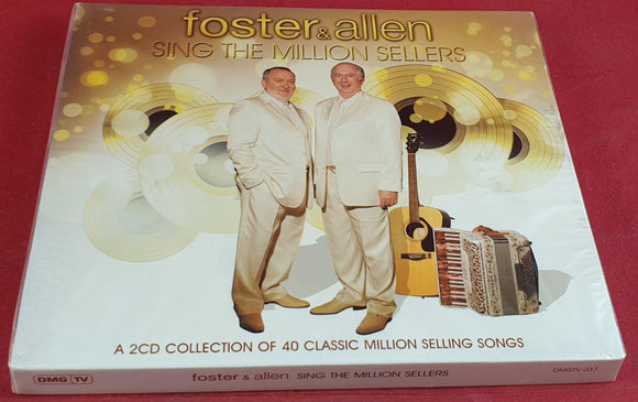 Brand New and Sealed Foster & Allen Sing the Million Sellers Audio CD