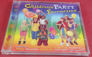 Brand New and Sealed Children's Party Favourites Audio CD