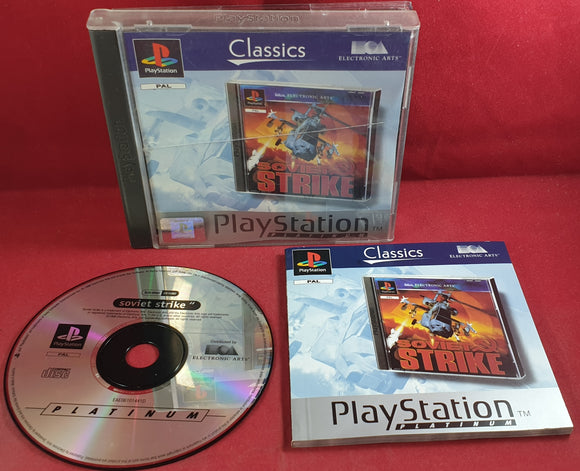 Soviet Strike Platinum Sony Playstation 1 (PS1) Game