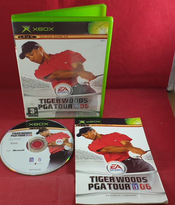 Tiger Woods PGA Tour 06 Microsoft Xbox Game