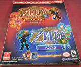 The Legend of Zelda Oracle of Seasons & Ages Prima's Official Strategy Guide RARE Book