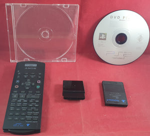 Sony Platstation 2 DVD Remote SCPH 10150 with Receiver, 8 MB Memory Card & DVD Player Install Disc Accessory