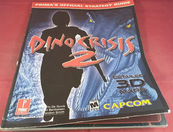 Dino Crisis 2 Strategy Guide Book