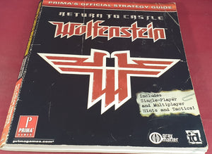 Return to Castle Wolfenstein Prima's Official Strategy Guide Book