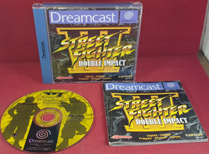 Street Fighter III Double Impact Sega Dreamcast Game