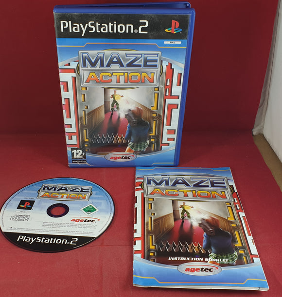 Maze Action Sony Playstation 2 (PS2) Game