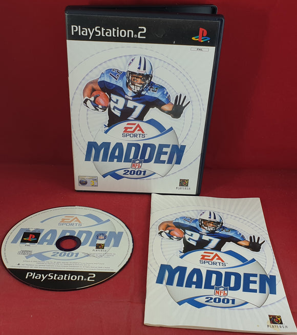 Madden NFL 2001 Sony Playstation 2 (PS2) Game