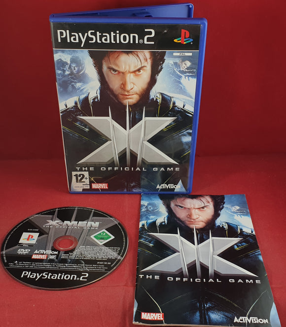 X-Men the Official Game Sony Playstation 2 (PS2) Game