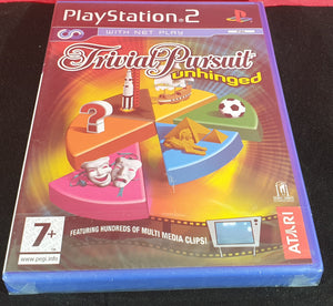 Brand New and Sealed Trivial Pursuit Unhinged Sony Playstation 2 (PS2) Game