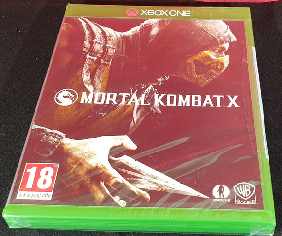 Brand New and Sealed Mortal Kombat X Microsoft Xbox One Game