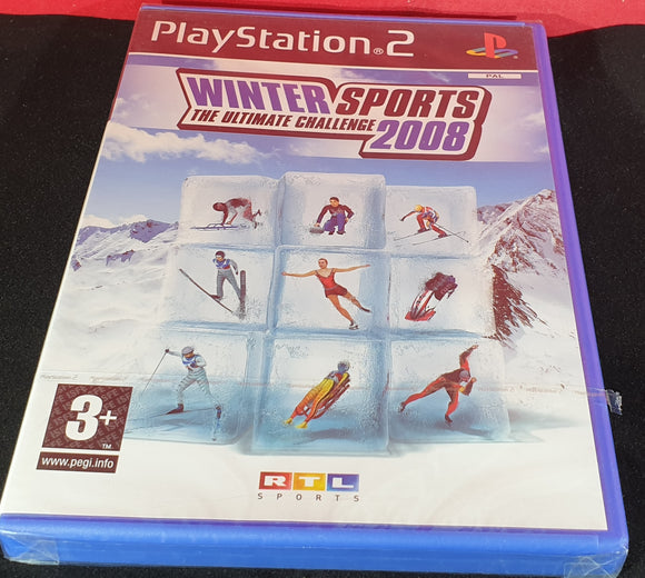 Brand New and Sealed Winter Sports 2008 Sony Playstation 2 (PS2) Game