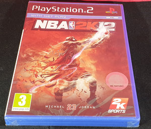 Brand New and Sealed NBA 2K12 Sony Playstation 2 (PS2) Game