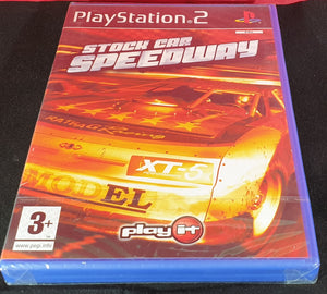 Brand New and Sealed Stock Car Speedway Sony Playstation 2 (PS2) Game