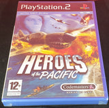 Brand New and Sealed Heroes of the Pacific Sony Playstation 2 (PS2) Game