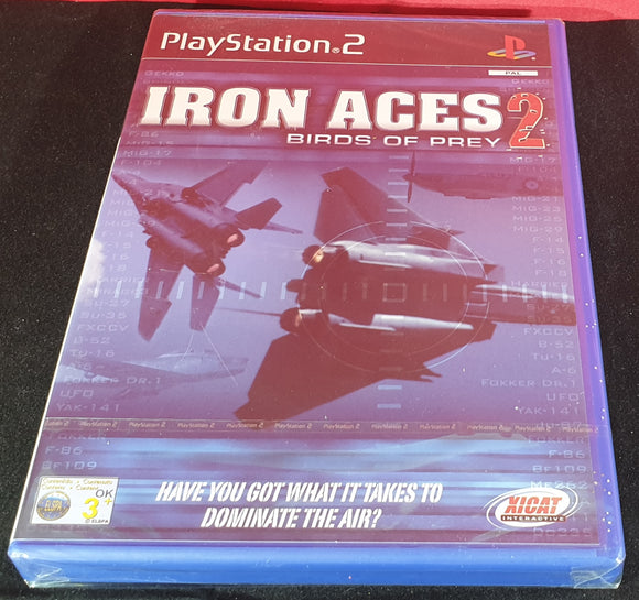 Brand New and Sealed Iron Aces 2 Birds of Prey Sony Playstation 2 (PS2) Game