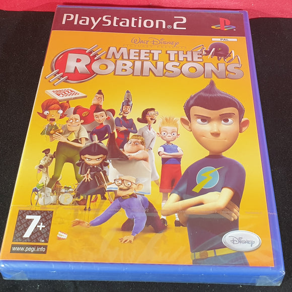 Brand New and Sealed Meet the Robinsons Sony Playstation 2 (PS2) Game