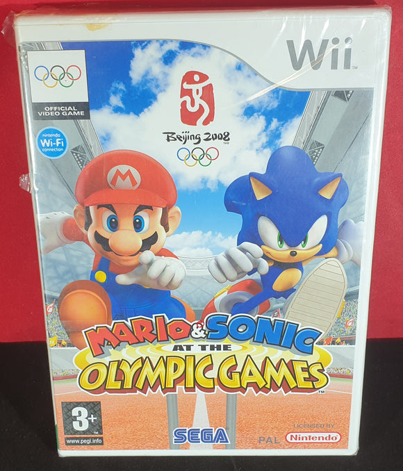 Brand New and Sealed Mario & Sonic at the Olympic Games Nintendo Wii