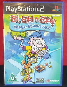 Brand New and Sealed Ed, Edd n Eddy the Mis-Edventures Sony Playstation 2 (PS2) Game