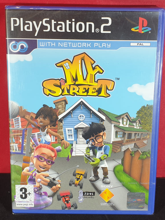 Brand New and Sealed My Street Sony Playstation 2 (PS2) Game