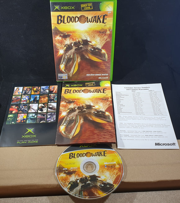 Blood Wake Microsoft Xbox Game