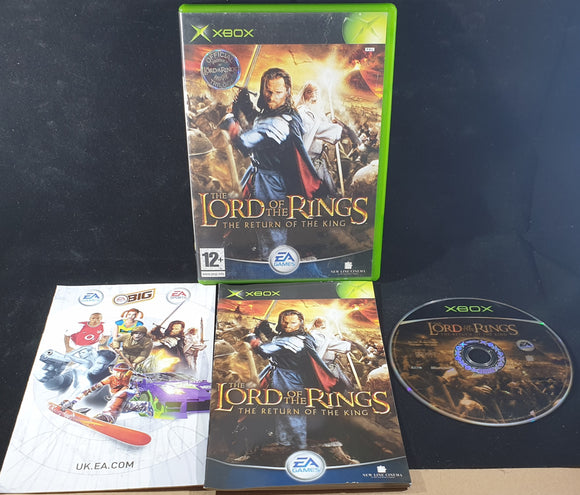 The Lord of the Rings the Return of the King Microsoft Xbox Game