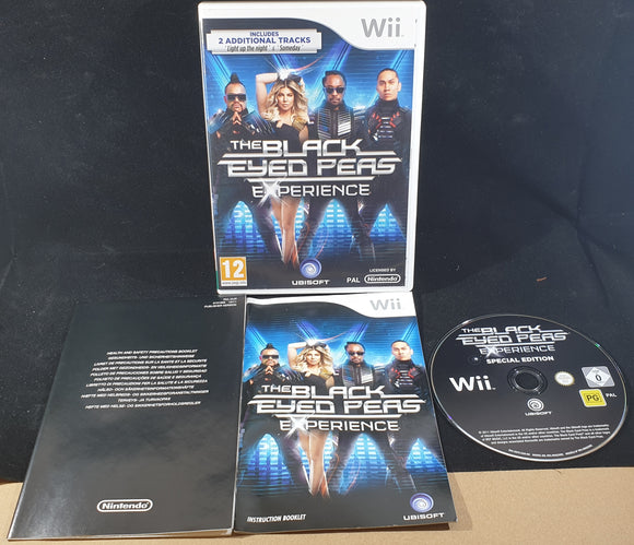 The Black Eyed Peas Experience Nintendo Wii Game