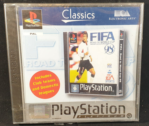 Brand New and Sealed FIFA Road to World Cup 98 Sony Playstation 1 (PS1) Game