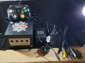 Nintendo GameCube Console with Pokemon Colosseum Sticker, Game & Memory Card