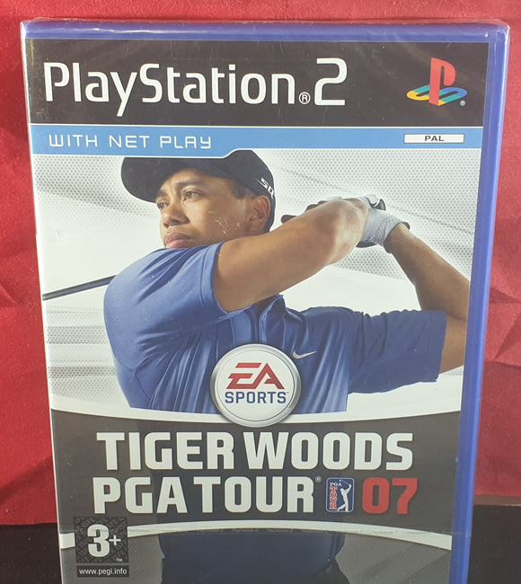Brand New and Sealed Tiger Woods PGA Tour 07 Sony Playstation 2 (PS2) Game