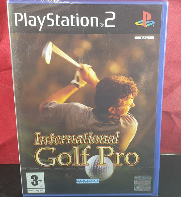 Brand New and Sealed International Golf Pro Sony Playstation 2 (PS2) Game
