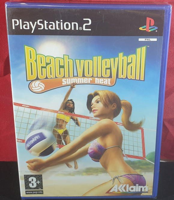 Brand New and Sealed Summer Heat Beach Volleyball Sony Playstation 2 (PS2) Game