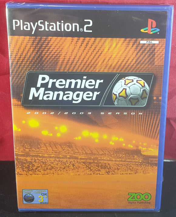 Brand New and Sealed Premier Manager 2002/2003 Sony Playstation 2 (PS2) Game