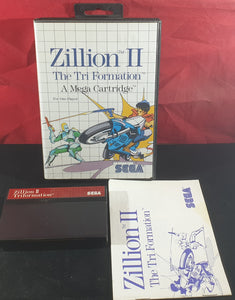 Zillion II the Tri Formation Sega Master System Game
