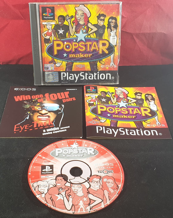 Popstar Maker Sony Playstation 1 (PS1) Game