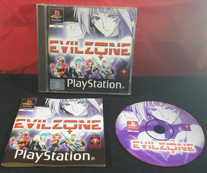 Evil Zone with Manual Sony Playstation 1 (PS1) RARE Game