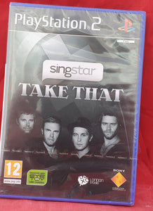 Brand New and Sealed Singstar Take That Sony Playstation 2 (PS2) Game