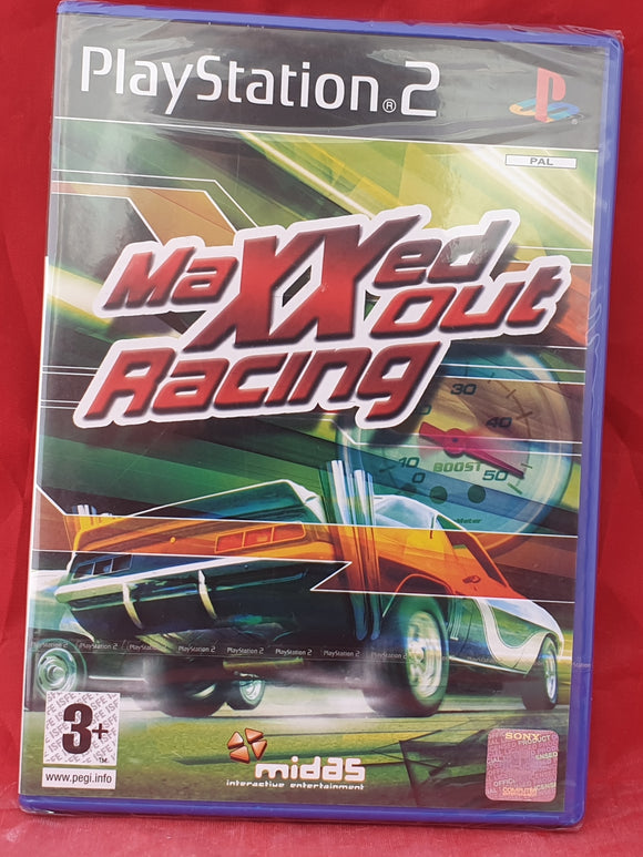 Brand New and Sealed  Maxxed out Racing Sony Playstation 2 (PS2) Game