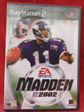 Brand New and Sealed Madden NFL 2002 Sony Playstation 2 (PS2) Game