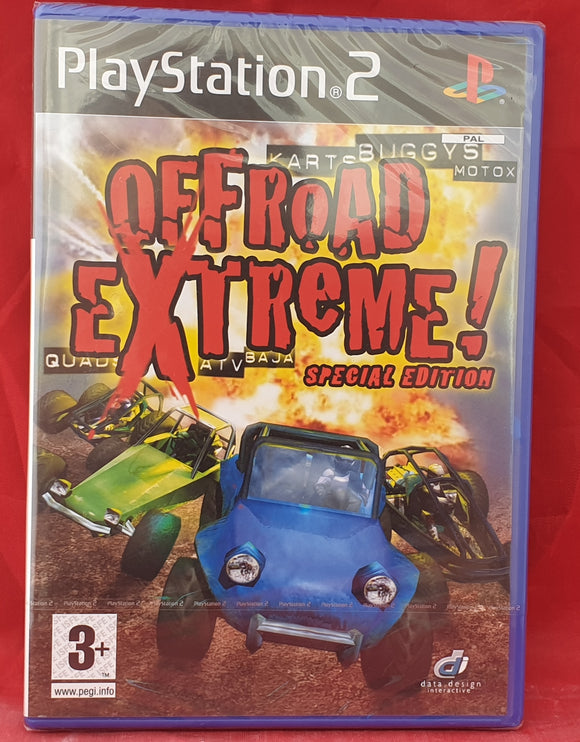 Brand New and Sealed Offroad Extreme Special Edition Sony Playstation 2 (PS2) Game