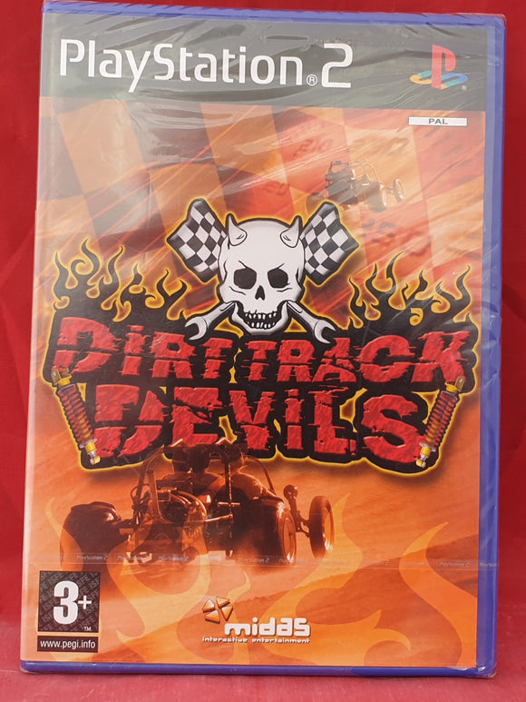 Brand New and Sealed Dirt Track Devils AKA The Offroad Buggy Sony Playstation 2 (PS2) Game