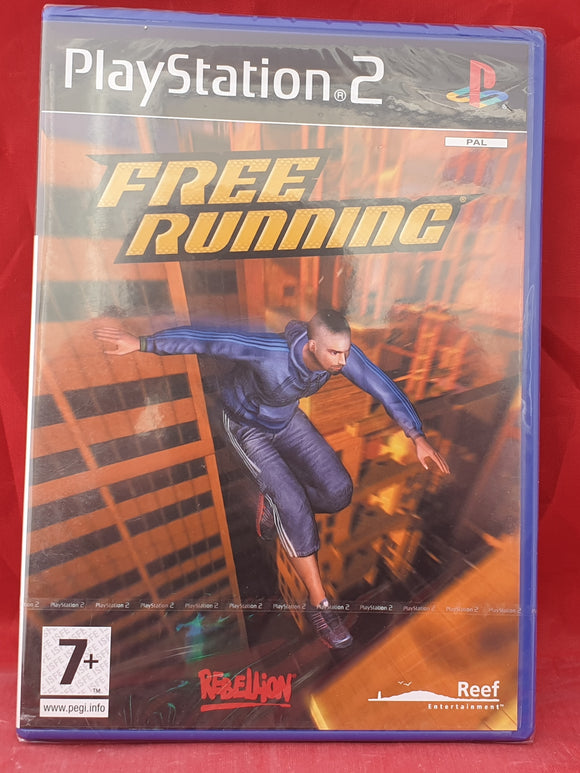 Brand New and Sealed Free Running Sony Playstation 2 (PS2) Game