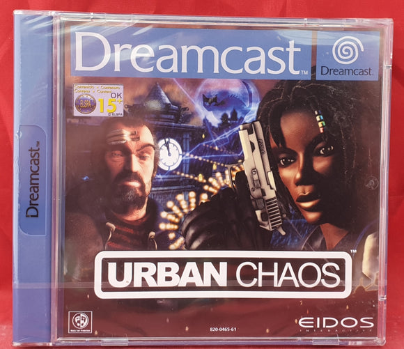 Brand New and Sealed Urban Chaos Sega Dreamcast, 2000 Game