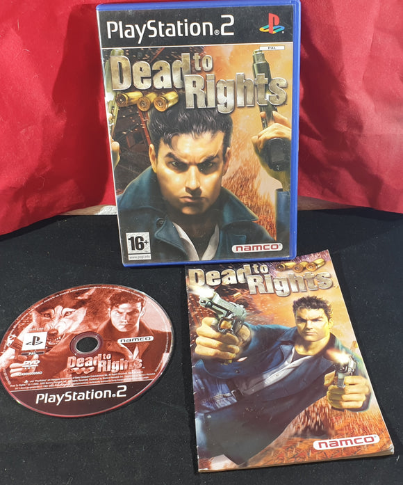 Dead to Rights Sony Playstation 2 (PS2) Game