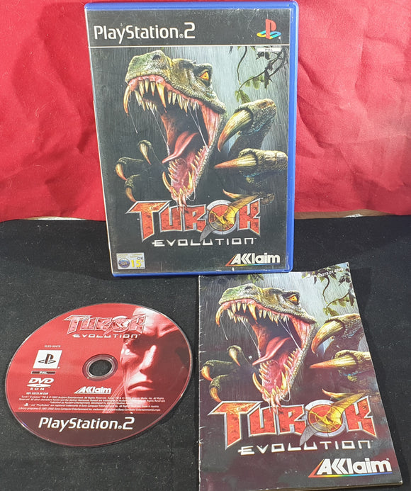 Turok Evolution Sony Playstation 2 (PS2) Game