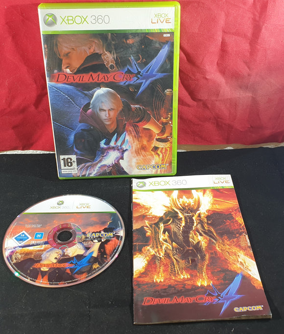 Devil May Cry 4 Microsoft Xbox 360 Game