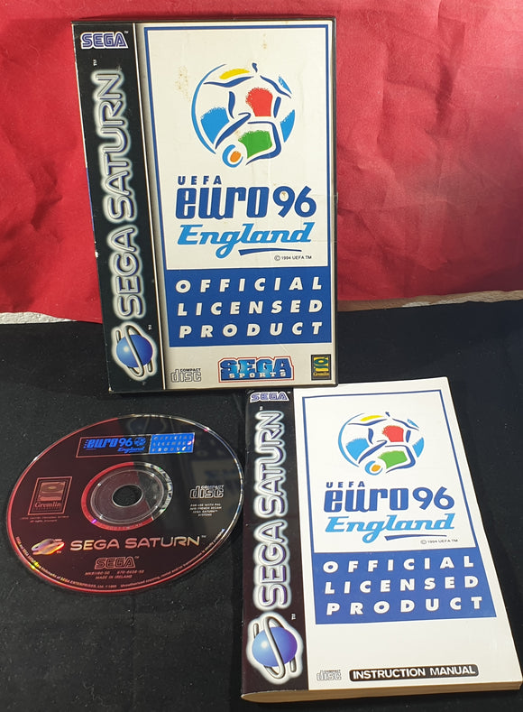 UEFA Euro 96 Sega Saturn Game