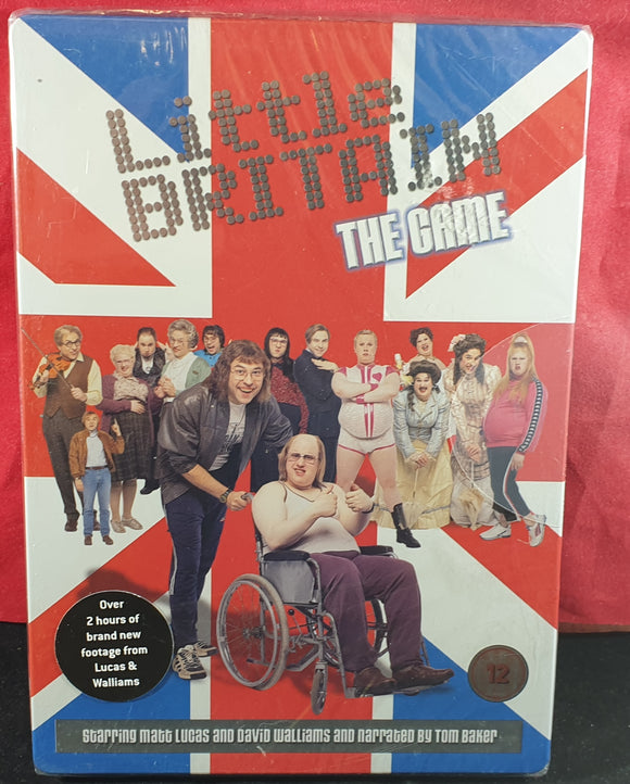 Brand New and Sealed Little Britain DVD Game