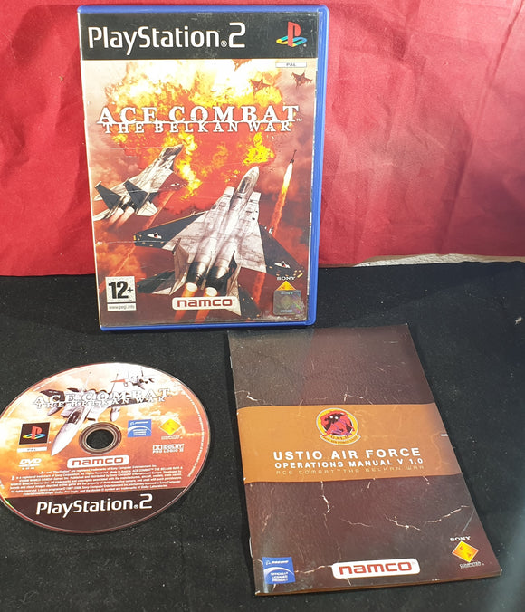 Ace Combat the Belkan War Sony Playstation 2 (PS2) Game