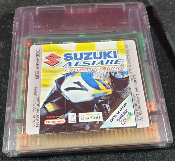 Suzuki Alstare Extreme Racing Cartridge Only Nintendo Gameboy Color Game